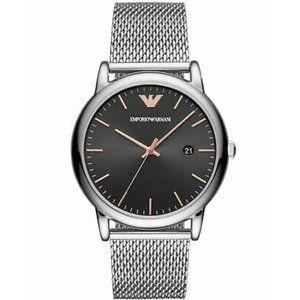 New Emporio Armani Men's  Stainless Steel Watch